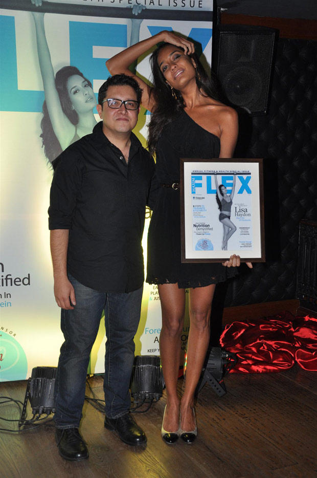 Lisa Haydon Launches Maxim Flex Health And Fitness Issue