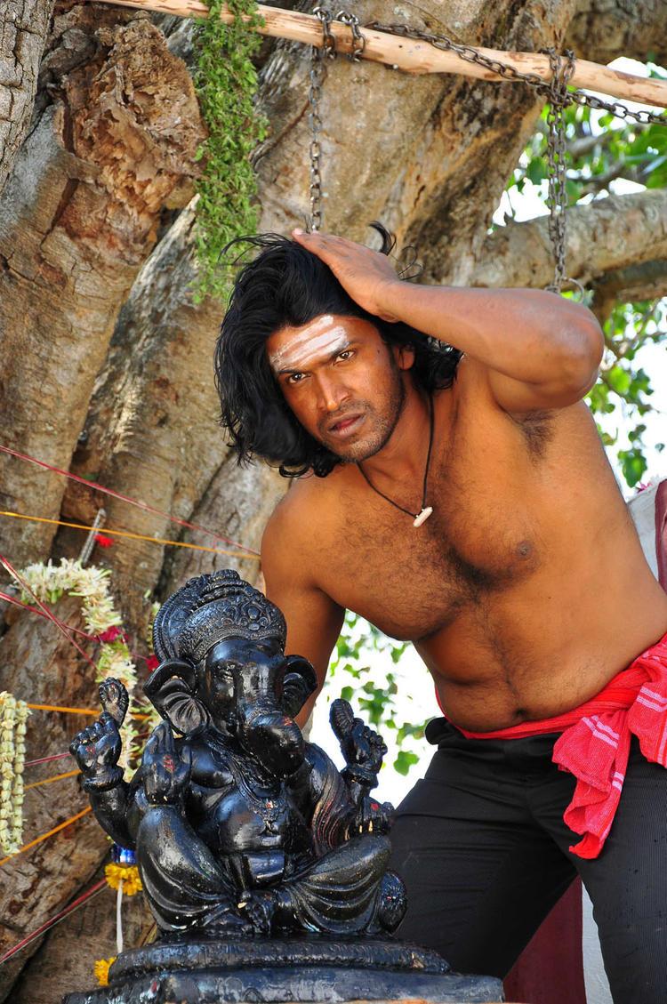 Puneeth Exclusive Photo Still From Yaare Koogadali Kannada Movie