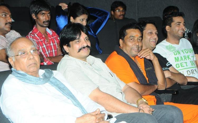 Akkineni And Sivaji Enjoyed The Programme At Gola Gola Platinum Disk Event