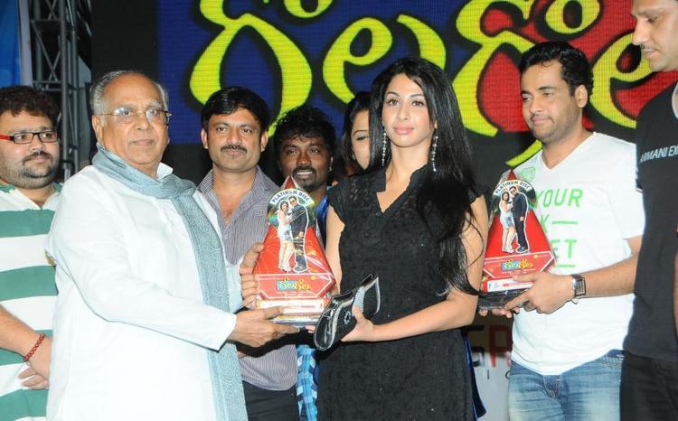 Akkineni Awarded To Gayatri At Gola Gola Movie Platinum Disc Function Held At Hyderbad