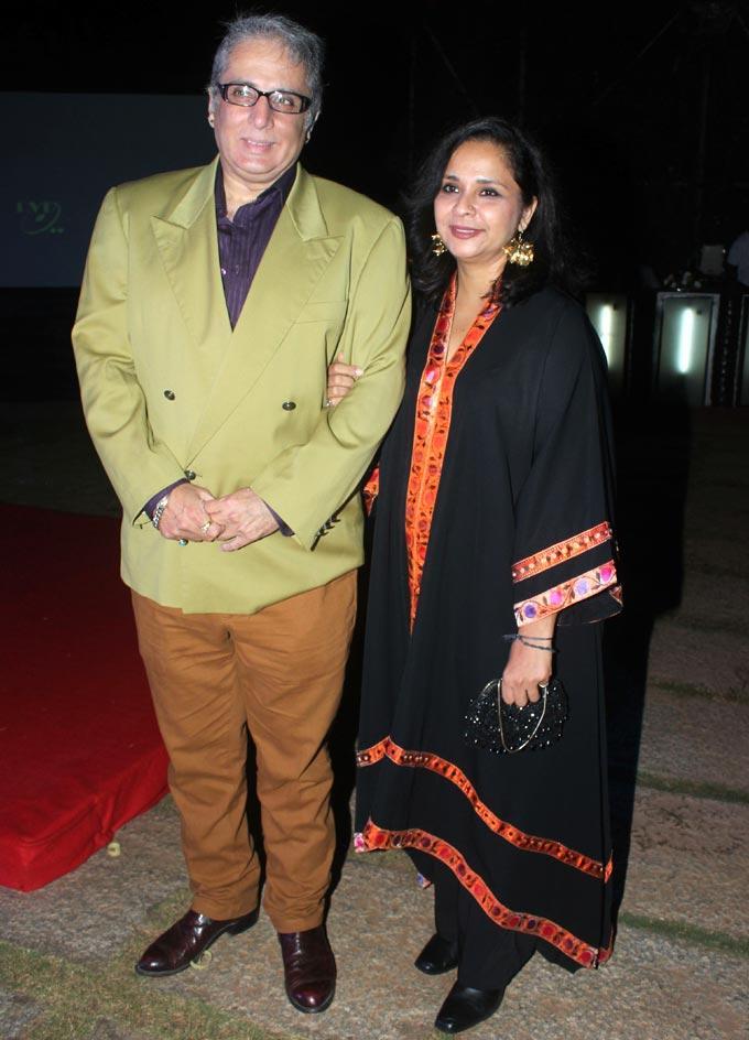 Aditya Raj Kapoor Attend The Birthday Bash Of Ashutosh Rana