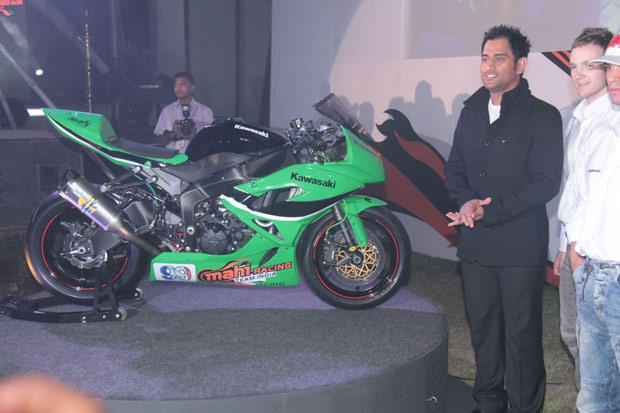 Mahendra Singh Dhoni Launched His FIM Superbike Championship