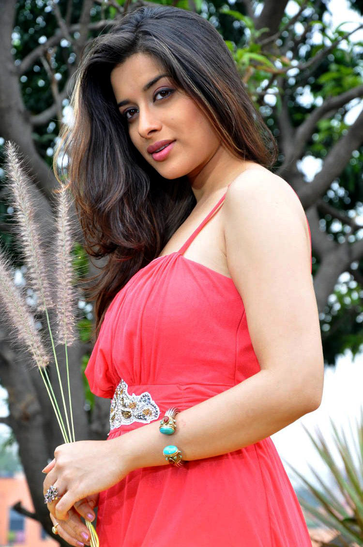 Madhurima Hot Look In Red Dress Still