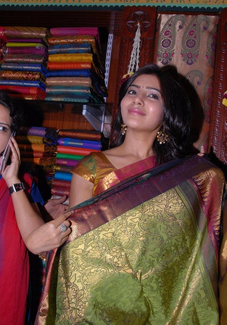 Samantha Inaugurates Chettinads Gallery  At Jubilee Hills