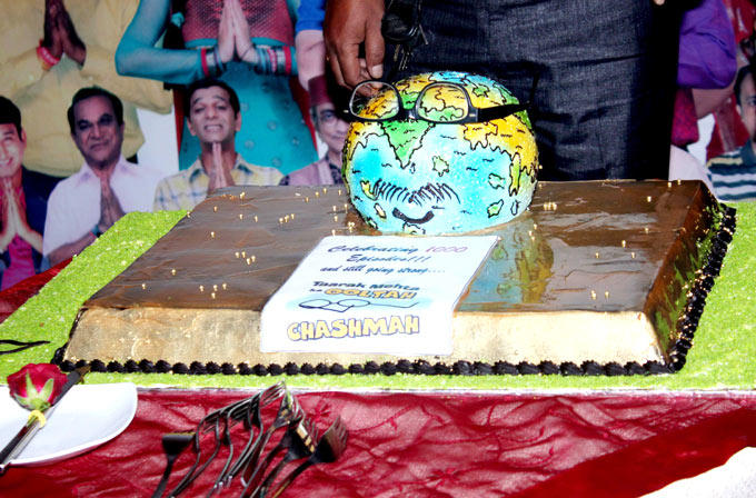 The Cake Photo At The Taarak Mehta Ka Ooltah Chashmah 1000th Episode Bash