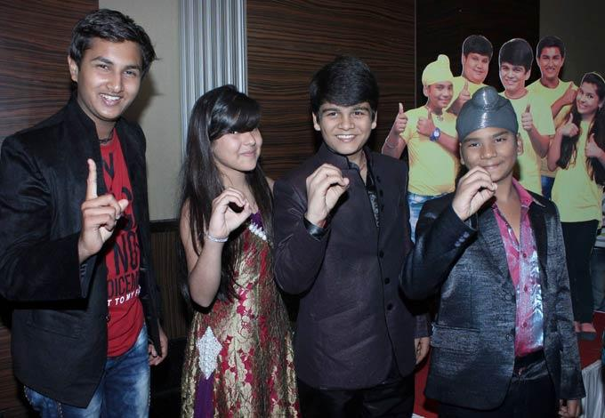 Nidhi,Bhavya And Samay Cool Smiling Still At The Taarak Mehta Ka Ooltah Chashmah 1000th Episode Bash