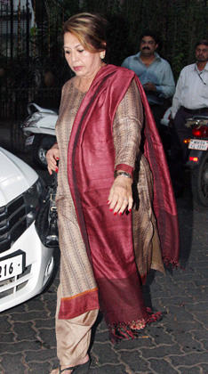 Helen Arrived At The Son Of Sardar Screening