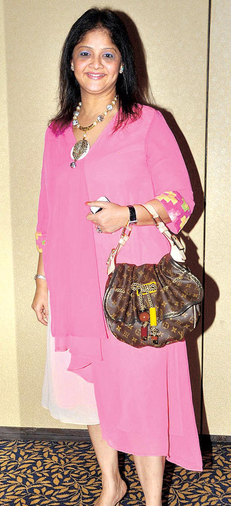 Sangeeta Spotted At Suburban Hotel In Pink Dress