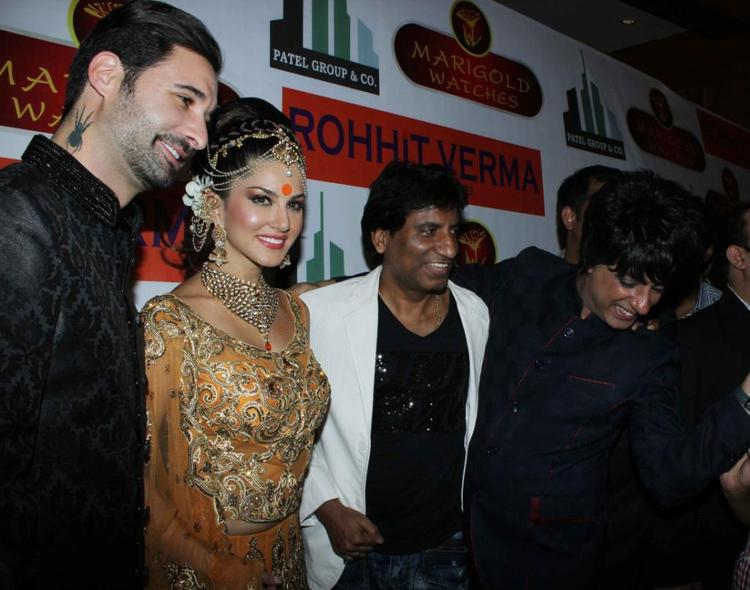Sunny,Rohhit And Raju Smiling Still At Fashion Show IGNITE