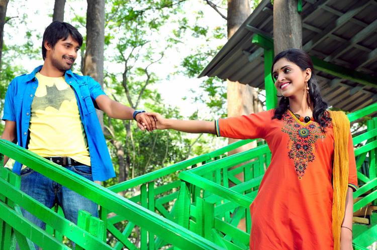 Varun And Sanchita Charming Look Still From Chammak Challo Movie Song