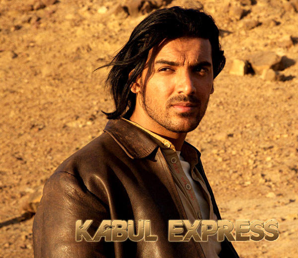 John Abraham Glamour Look Photo On Kabul Express Poster