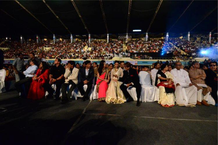 Celebs Enjoyed The 18th Kolkata International Film Festival 2012