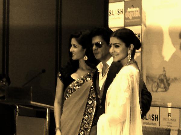 Katrina,Shahrukh And Anushka Glamour Still At 18th Kolkata International Film Festival
