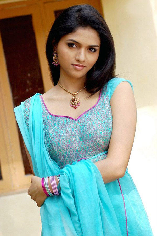 Sunaina In Blue Chudidar Beautiful Look Still