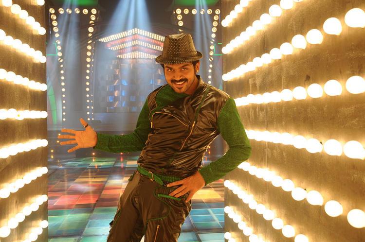 Karthi Dancing Still From Telugu Bad Boys Movie Song