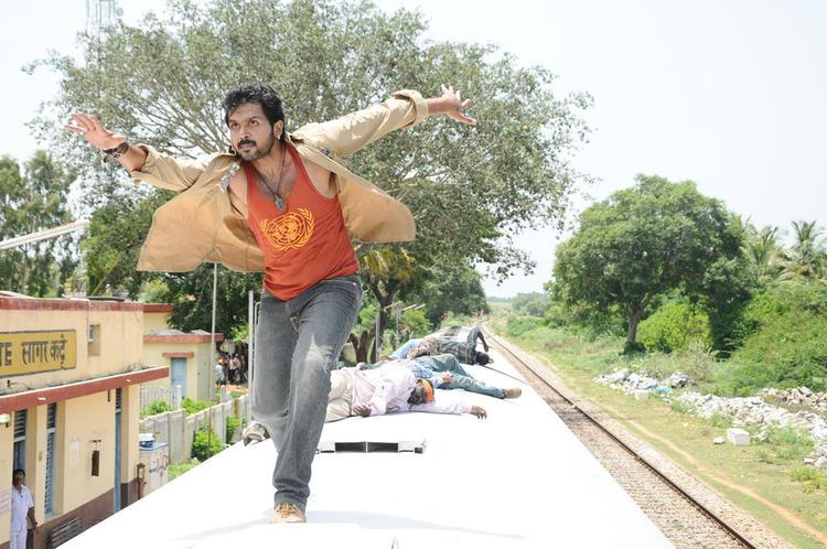 Karthi Fighting Photo Clicked From Telugu Movie Bad Boys