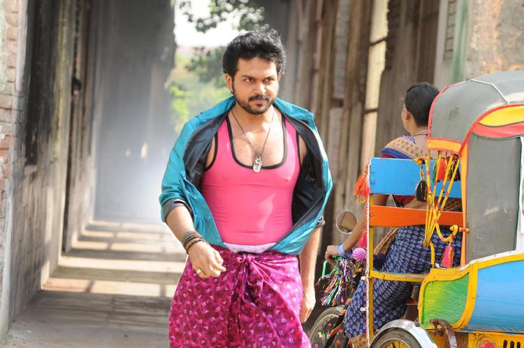 Karthi Village Boy Look Still From Telugu Movie Bad Boys