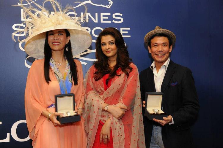 Aishwarya At Longines Singapore Gold Cup