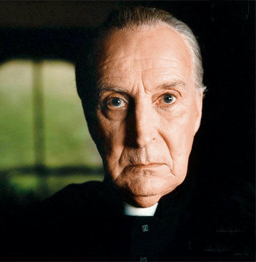 Ian Richardson Angry Look Still