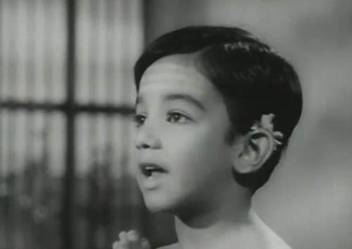 Kamal Haasan As Child Artist In Kalathur Kannamma