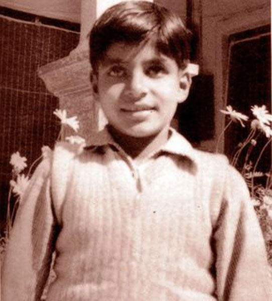 A Still Of Very Young Amitabh Bachchan