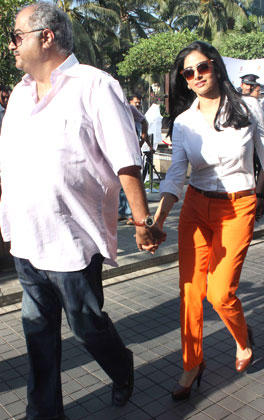 Sridevi  With Hubby Boney Sotted To Buy Porsche Car