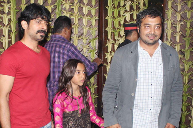 Anurag Kashyap Spotted At Big B's Diwali Bash