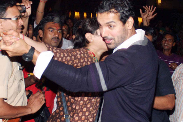 John Abraham Rocked At Big B's Diwali Bash