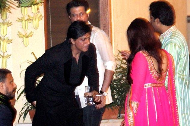 SRK,Anil,Aishwarya And Abhishek Enjoyed At Big B's Diwali Bash