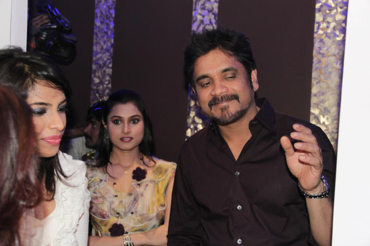 Nagarjuna Attend The Launching Of B-Blunt Salon