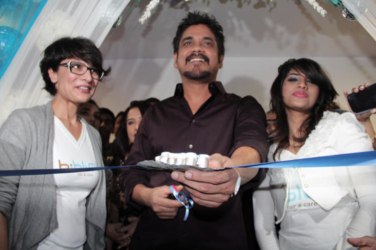 Nagarjuna Inaugurates B-Blunt Salon And Adhuna Looks On