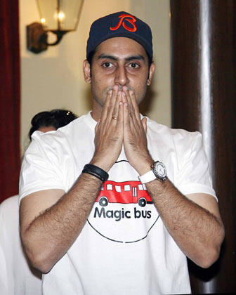Abhishek Superb Look Photo At Magic Bus Event On Children's Day