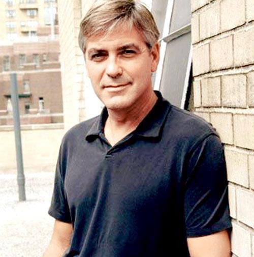 George Clooney Nice Look Photo