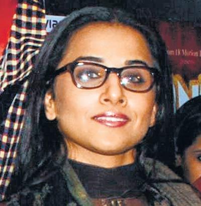 Vidya Balan Smiling Still In Spectacle