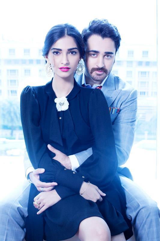 Sexy Sonam With Imran Photo Shoot For Star Weeks Annual Style Issue