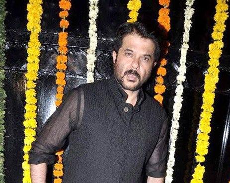 Anil Posed For Camera At Ekta Kapoor Diwali Bash