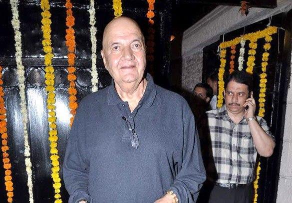 Prem Chopra Spotted At Diwali Bash Of Ekta Kapoor