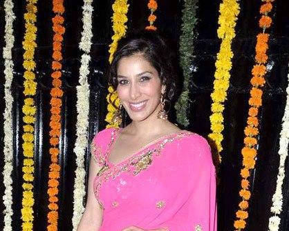 Sophie Looked Radiant And Beautiful In Saree At Ekta Kapoor Diwali Bash