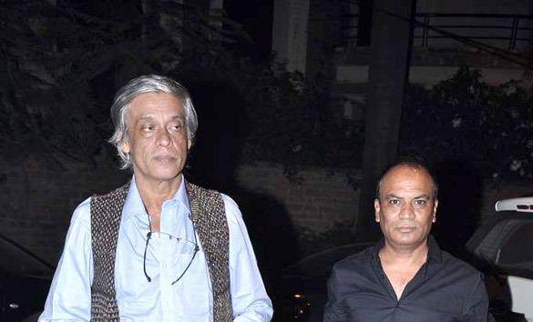 Sudhir Spotted With A Friend At Ekta Kapoor Diwali Bash