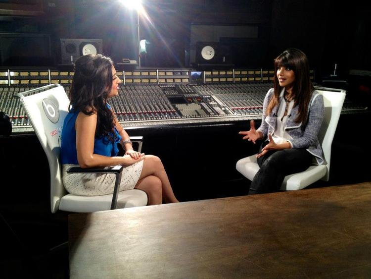Priyanka On Andaaz TV For Promoting Her Debut In My City