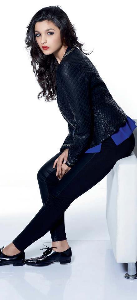 Alia Bhatt Trendy Looking Photo Shoot For Cosmopolitan India November 2012
