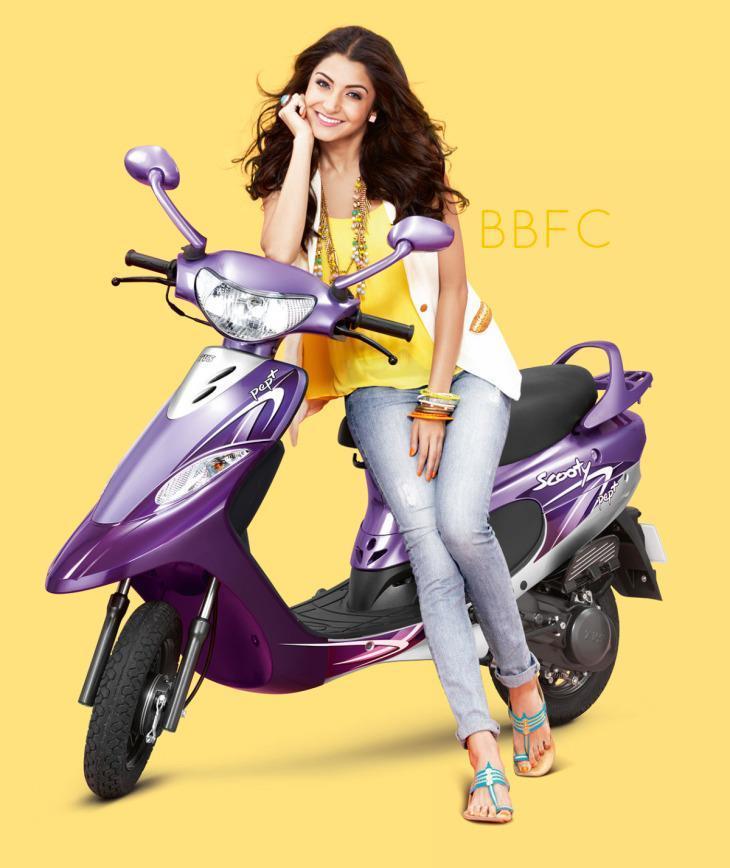 Anushka Sharma To Endorse TVS Scooty Pep