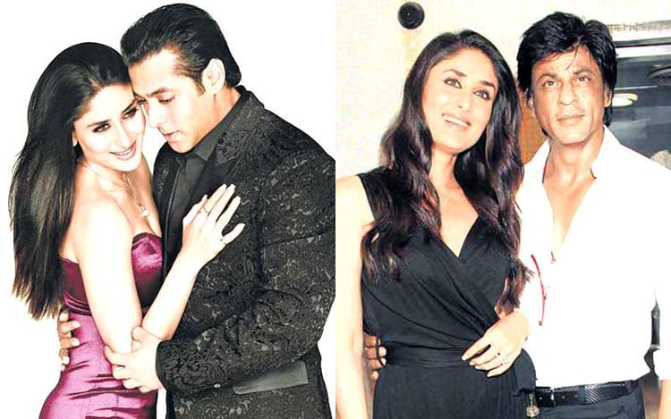 Salman With Kareena Hot Still And Kareena With Shahrukh Nice Still