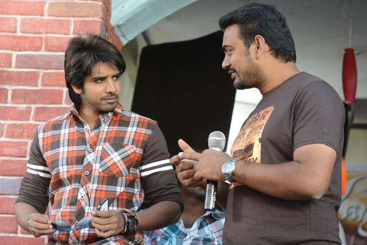 Susanth And Karthik Snapped  On Adda Movie Location