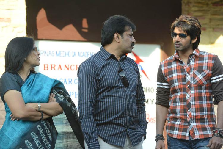 Susanth,Susheela And Chintalapudi Spotted On Adda Movie Location