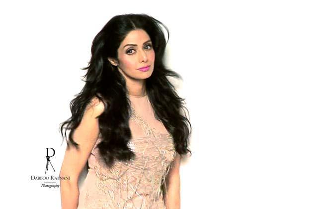 Sridevi Kapoor Charming Look Photo Shoot For Dabboo Ratnani