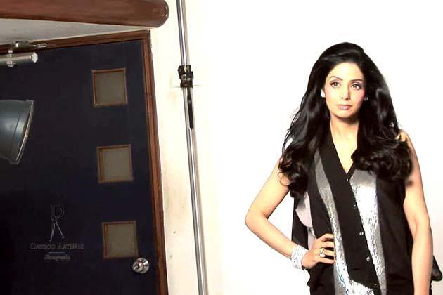 Sridevi Kapoor Dazzling Look Photo Shoot For For Dabboo Ratnani