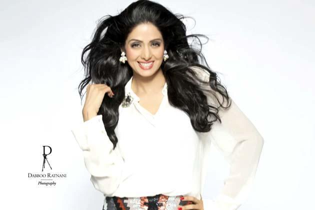 Sridevi Kapoor Sizzling Look Shoot For Dabboo Ratnani
