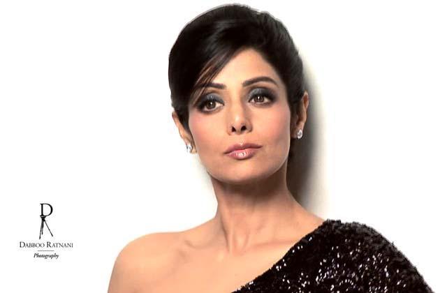 Sridevi Kapoor Stunning Look Photo Shoot For Dabboo Ratnani