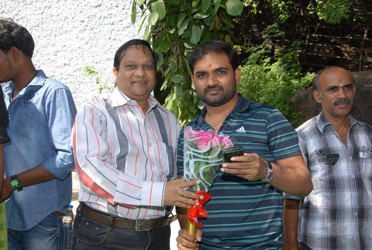 Guests Are Posed At Premakatha Chitram Opening Event